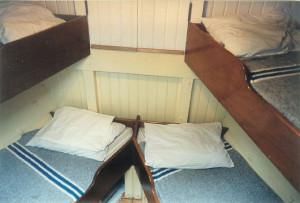 Below Deck Crew Bunks