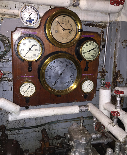 Boiler-Room-Steam-Gauges