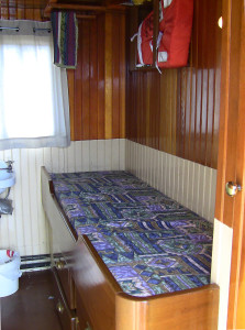 SS Master Steam Tugboat crew quarters