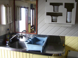 The Wash Up Area