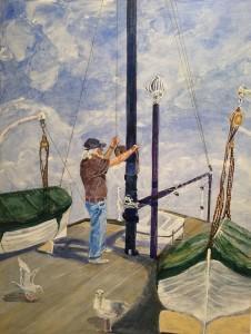 David Bradford Painting 4131