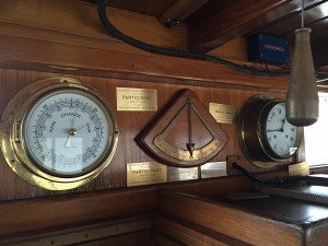 Barometer, Angle Gauge and Clock